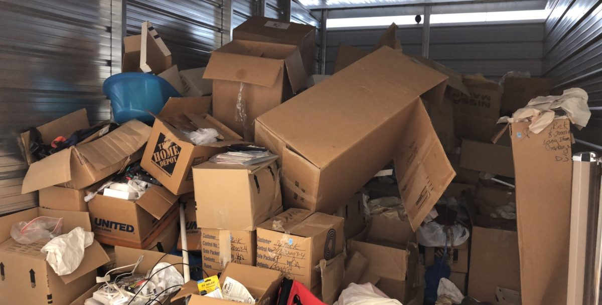 Green Guys Junk Removal provides storage clean outs in marietta ga